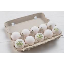 Kaimiški vištų kiaušiniai 10 vnt.